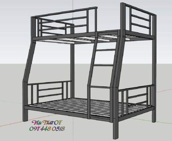 Làm giường tầng sắt theo yêu cầu tại Đà Nẵng LH: 0938569427