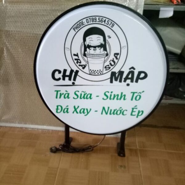 Làm hộp đèn hút nổi Đà Nẵng 0974480518