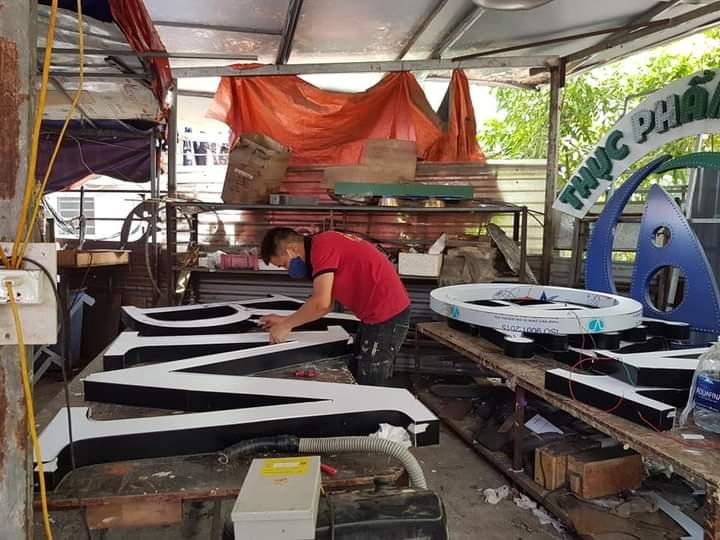 Làm chữ inox tại Đà Nẵng LH 0974480518 - 0938569427