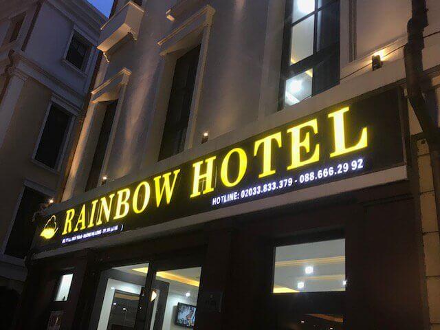 Thi công bảng hiệu hotel đẹp tại Đà Nẵng 0974480518 (Mr Phương)