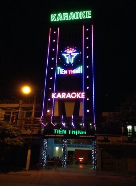 Bảng hiệu quán karaoke đẹp tại Đà Nẵng LH: 0974480518