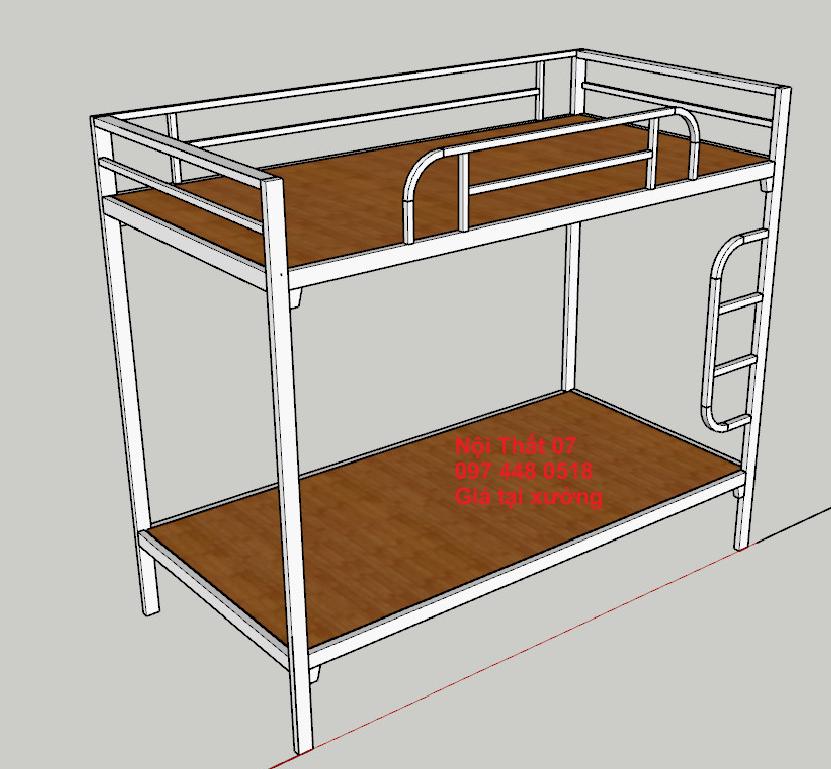 Thiết kế làm giường tầng sắt theo yêu cầu tại Đà Nẵng LH: 097 448 0518