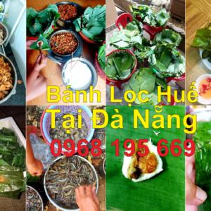 Lò làm bánh lọc tại Đà Nẵng, Nhận đặc làm bánh lọc gói theo yêu cầu