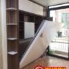 Làm giường thông minh kết hợp kệ sách bên trong tại Đà Nẵng